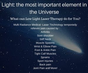 Low Level Laser Therapy for Pain - Photobiomodulation The Miracle of Healing Light