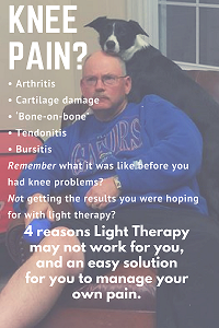 Photobiomodulation healing pain